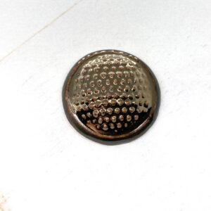 Dotty L2Studio cabochon Gold Bronze on light clay x 1 pc(s)