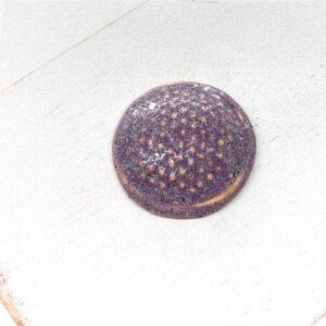 Dotty L2Studio cabochon Lavender on light clay x 1 pc(s)
