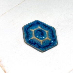 Galaxy Octave L2Studio cabochon Blue Effect on light clay x 1 pc(s)