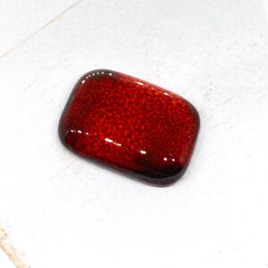 Ovangle L2Studio cabochon Red Flame on light clay x 1 pc(s)