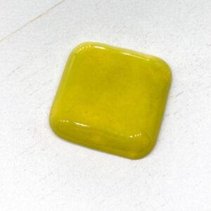 Square L2Studio cabochon Avocado on light clay x 1 pc(s)