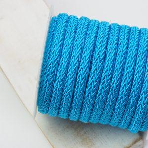 7x4 mm decorative cord Sky Blue x 0.5 m