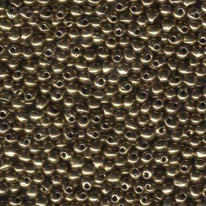 Miyuki Drop 3.4 mm beads nr. 457 Metallic Bronze x 5 g