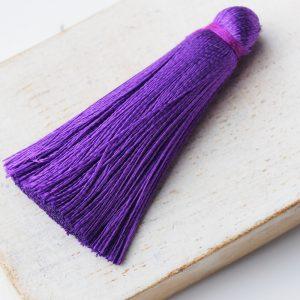 4 cm tassel imitation silk Magic Purple x 1 pc(s)