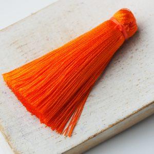 4 cm tassel imitation silk Orange x 1 pc(s)