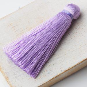4 cm tassel imitation silk Purple x 1 pc(s)