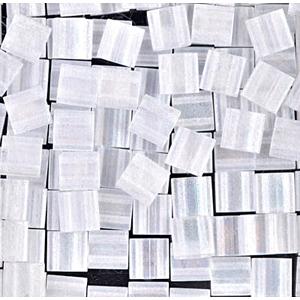 Miyuki Tila beads nr. 131FR Matte Transparent Crystal AB x 5 g