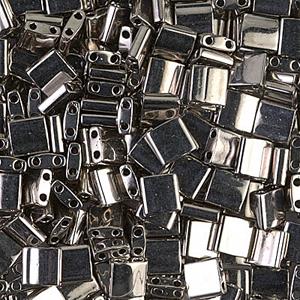 Miyuki Tila beads nr. 190 Nickel Plated x 5 g