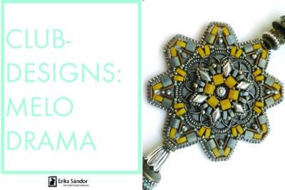 #ClubDesigns: Melodrama earrings variations