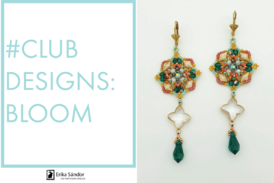 #ClubDesigns: Bloom earrings variations