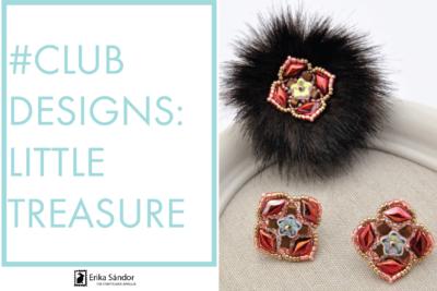 #ClubDesigns: Little Treasure earrings variations