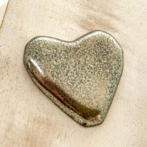 Heart L2Studio cabochon Gloria on light clay x 1 pc(s)