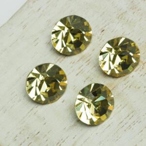 10 mm Preciosa crystal chaton Jonquil x 4 pc(s)