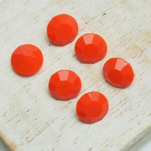 8 mm Preciosa crystal chaton Coral x 6 pc(s)