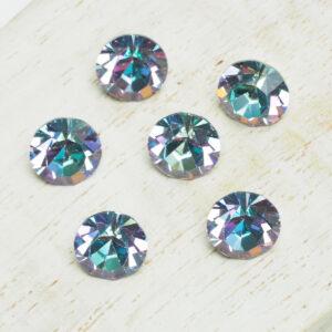 8 mm Preciosa crystal chaton Crystal Vitrail Light x 6 pc(s)