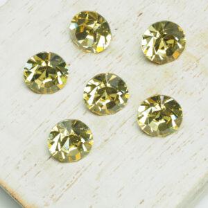 8 mm Preciosa crystal chaton Jonquil x 6 pc(s)