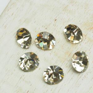 8 mm Preciosa crystal chaton Light Golden Quartz x 6 pc(s)