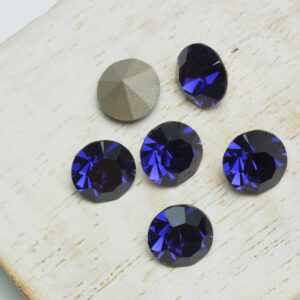 8 mm Preciosa crystal chaton Purple Velvet x 6 pc(s)