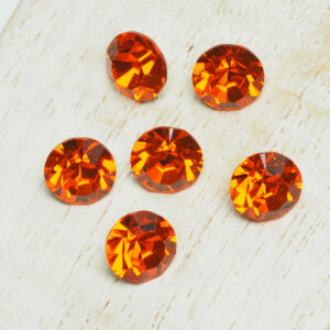 8 mm Preciosa crystal chaton Sun x 6 pc(s)