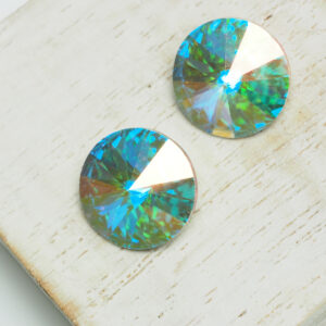 14 mm Preciosa crystal rivoli Crystal AB x 2 pc(s)
