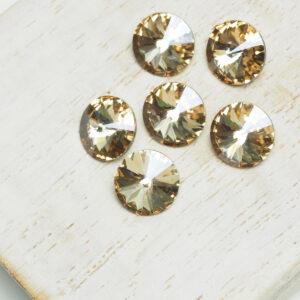 8 mm Preciosa crystal rivoli Crystal Honey x 6 pc(s)