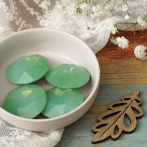 27 mm round glass cabochons