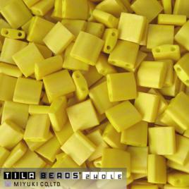 Miyuki Tila 2311 Matted Opaque Canary x 5 g